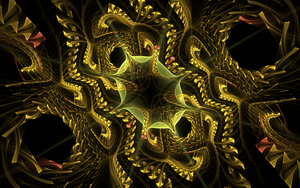 yellow weird pattern by Andrea1981G