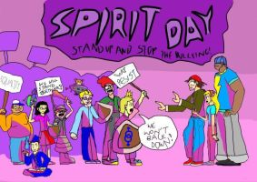 SPIRIT DAY by doodle-guy7