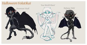 Halloween Volatikai Adopts -all sold- by shorty-antics-27