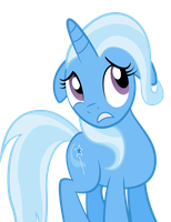 Scared Trixie by SpellboundCanvas