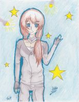 Entry: Daika under Starry Lights by NiceGuyAnimeFan