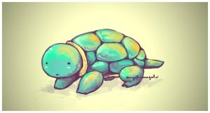 Whuttup, Turtle? by azulmint