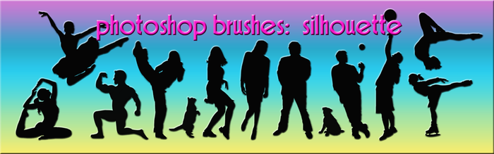 photoshop brushes: silhouette by gutterlily10