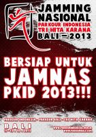Jamming Nasional Parkour Indonesia 2013 by herbyvora