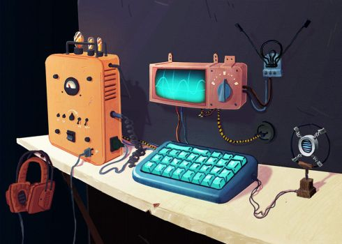 Computing station by Cigare-volant