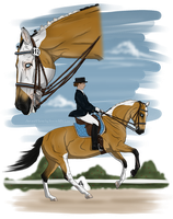 For the dressage Event by BRls-love-is-MY-Live