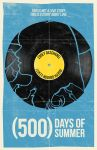 (500) Days Of Summer movie poster by billpyle