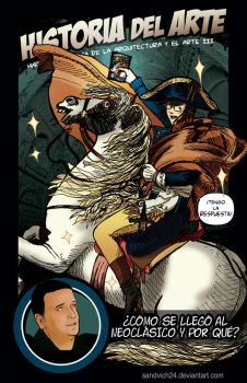 Myself as Napoleon on a comic by sandvich24