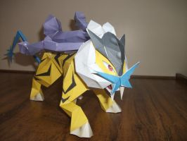 Pokemon Papercraft - Raikou
