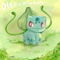 Bulbasaur by CuteMeowclops