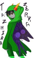 RequestStuck: Tazmira by KawaiiKitty129