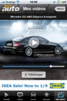 Projet d'application Iphone pour SportAuto by JFDC