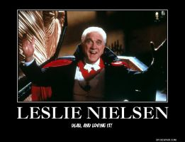 Leslie Nielsen truth by tuckerkakashi