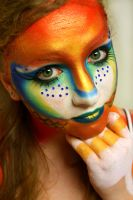 Gold fish 2 by Pulse-Hair-Makeup