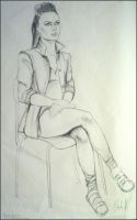 Drawing - my classmate by Ennete