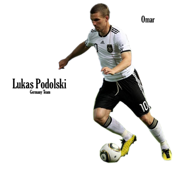 Lukas Podolski Germany Team by OmaR-GeNtLeMaN