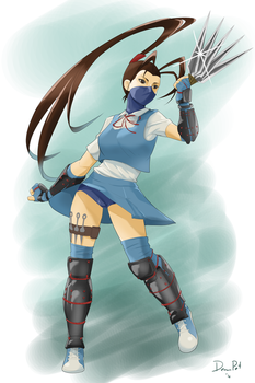 Ibuki in her new Design by ChibiMaDemonPet