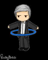 Lestrade Hula-hooping by shockingblankets