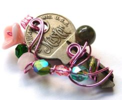Passage Pendant no. 57 by sojourncuriosities