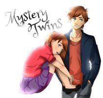 Mystery Twins by gloriamelmed