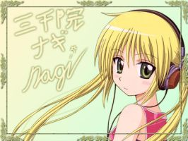 Hayate no Gotoku Wall-Nagi by Rikulaw