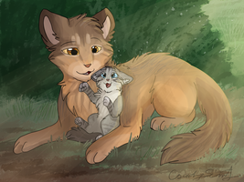 Daddy's Little Girl by CascadingSerenity