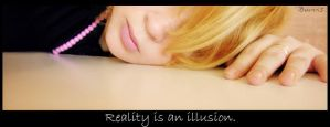 Reality is an illusion. by Bunnis