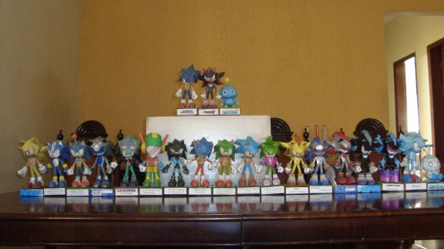 Sonic Papercrafts all custons and Lists (Updated) by augustelos