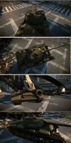 T-54 Cryengine 3 by damart3d
