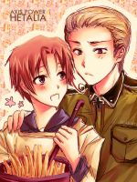 APH  :: GERMAN-ITALY :: by scarlet-xx