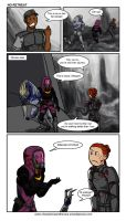 C+H [ME3 ending/extended cut spoilers]: No Retreat by Ddriana