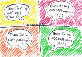 1,000 pageviews xD by punkvicious