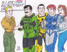 GI Joe Recruitment Drive by Crash2014