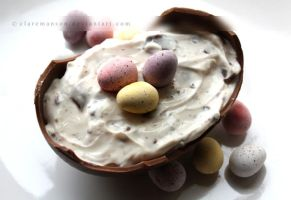 Easter Egg Cheesecake by claremanson