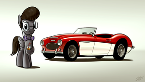 Commission - Austin Healey by Dori-to