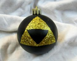 Zelda Triforce Ornament by CherriKiss