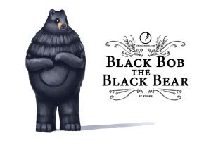 Black Bob the Black Bear COVER. by kuoke