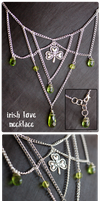 +Irish Love Necklace+ by nayruasukei