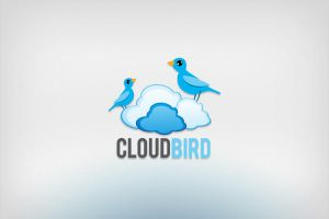 Cloud bird logo design by Lemongraphic