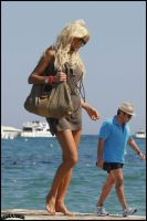 Victoria Silvstedt walk by lowerrider