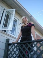 Lady rose at the balcony 05 by gsdark-stock