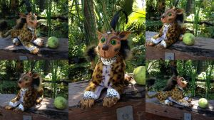 Plush Monster by SonsationalCreations