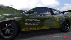 Never Back Down - Fiat Coupe by Kingmush360
