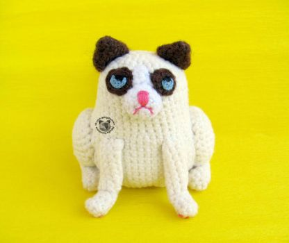 Grumpy Cat Amigurumi Pattern Free : Crafts favourites by dollaway on DeviantArt