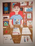 John Among the Canines cartoon Cover by Justyn16