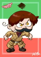 Hetalia Romano Art Card by kevinbolk