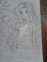 Sketch: Renesmee Cullen by Jnennyuki