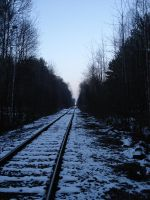 The train is coming by Lukotus