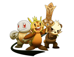 Pokemon X and Y Heros by MrBigTheArtist
