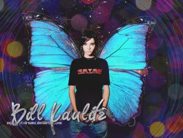 Bill Kaulitz: butterfly by my-violet-dreams